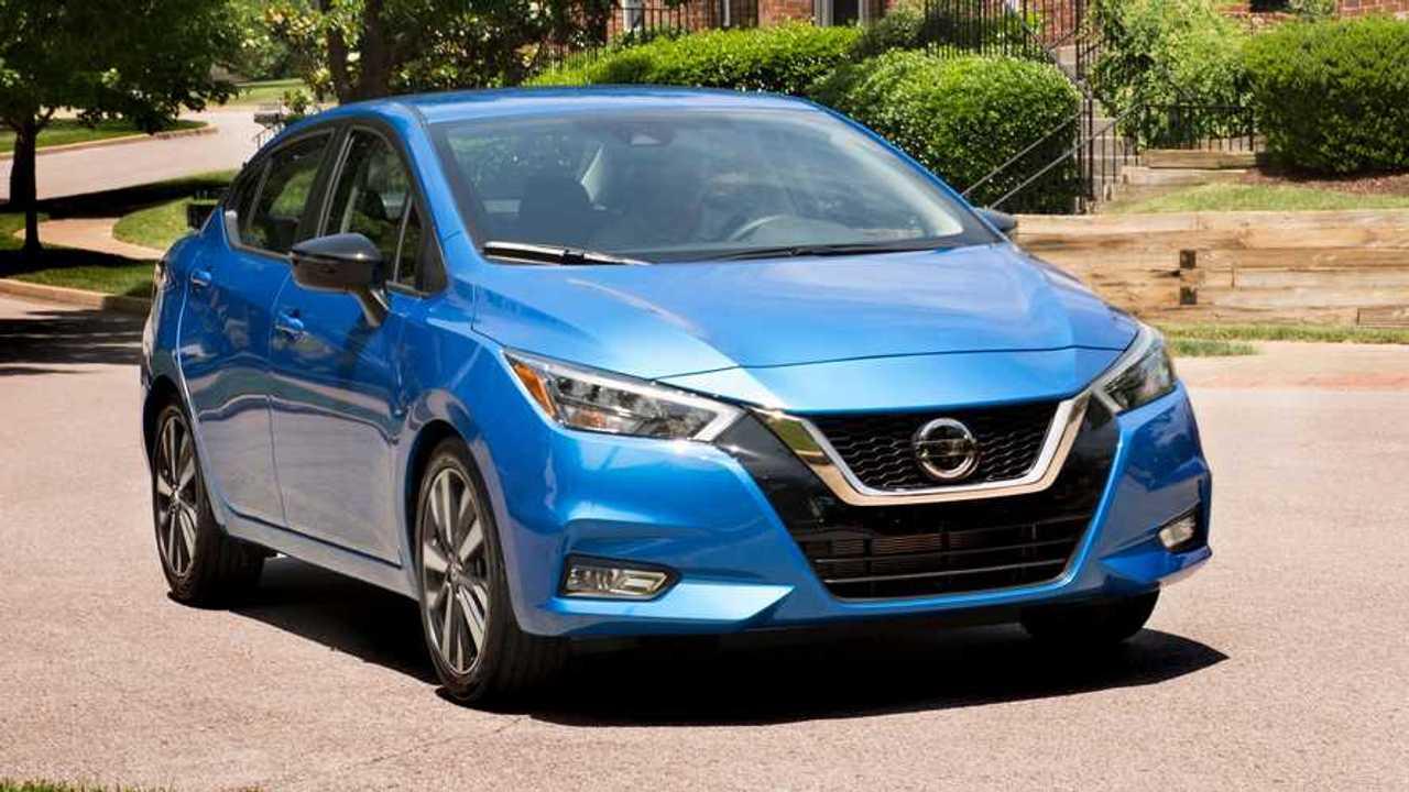 2021 Nissan Versa Three Quarter Passenger