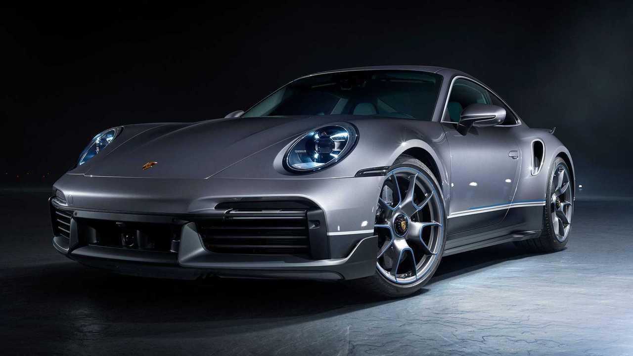 2021 Porsche 911 Turbo S Embraer