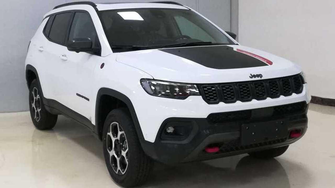 Jeep Compass 2022 - Registro na China