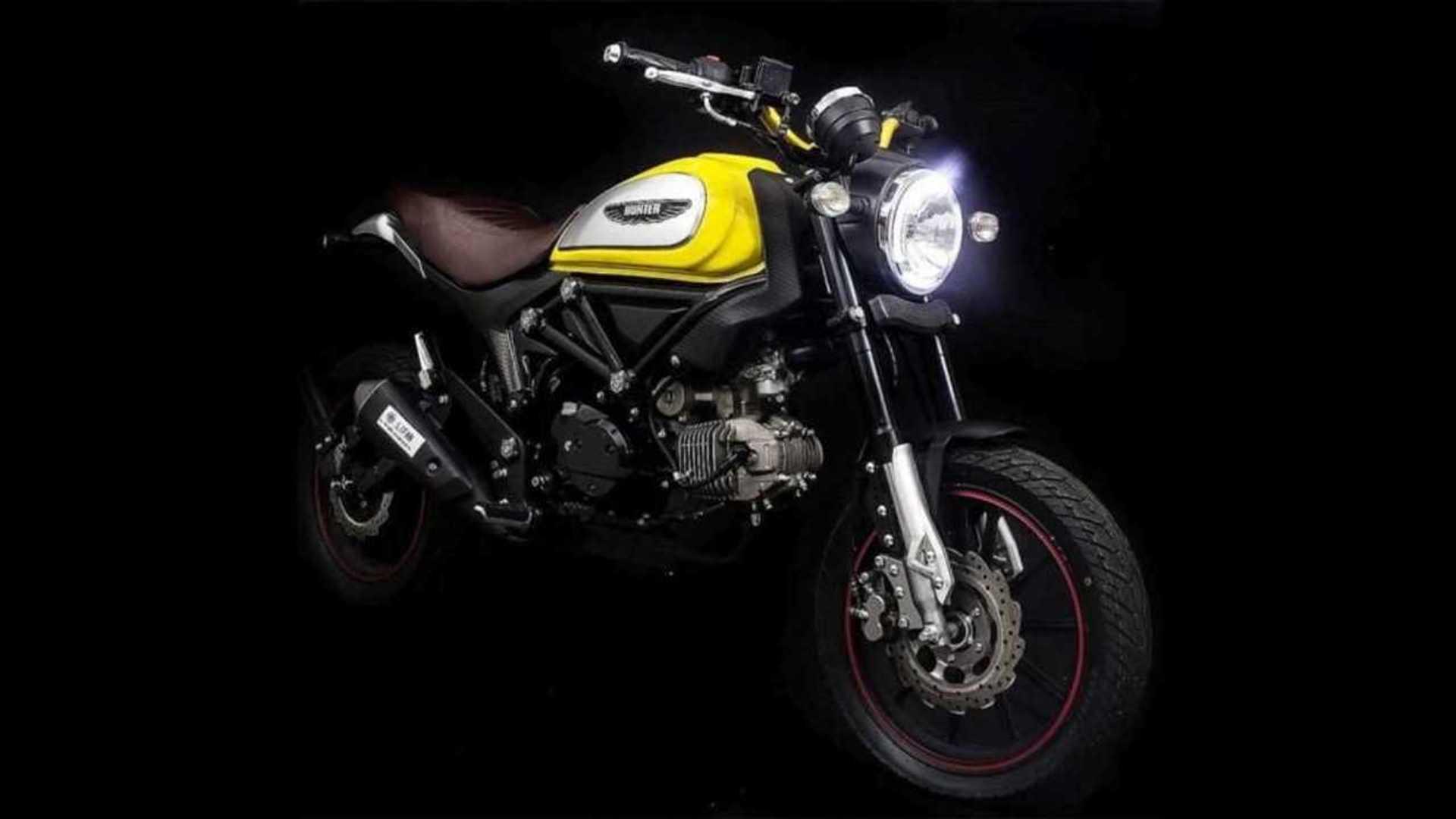 Lifan Hunter 125 Blatantly Rips Off Ducati Scrambler's Styling