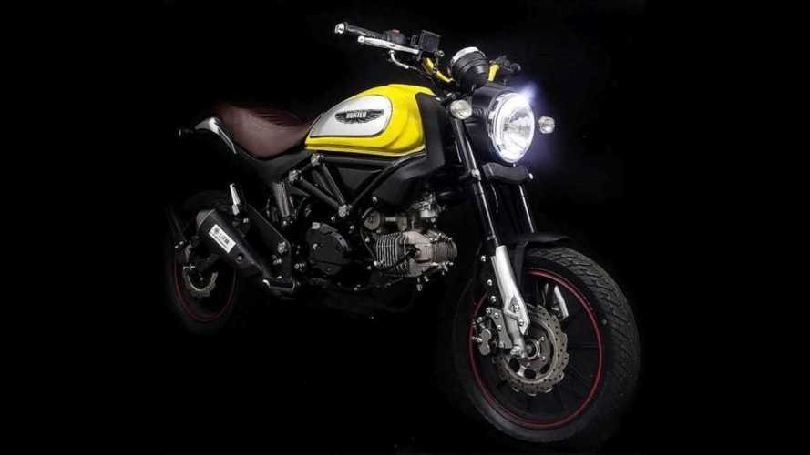 Lifan Hunter 125 Blatantly Rips Off Ducati Scrambler's Styling