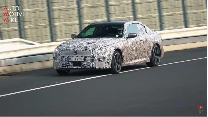 Vidéo - La nouvelle BMW Série 2 s'entraîne au Nürburgring