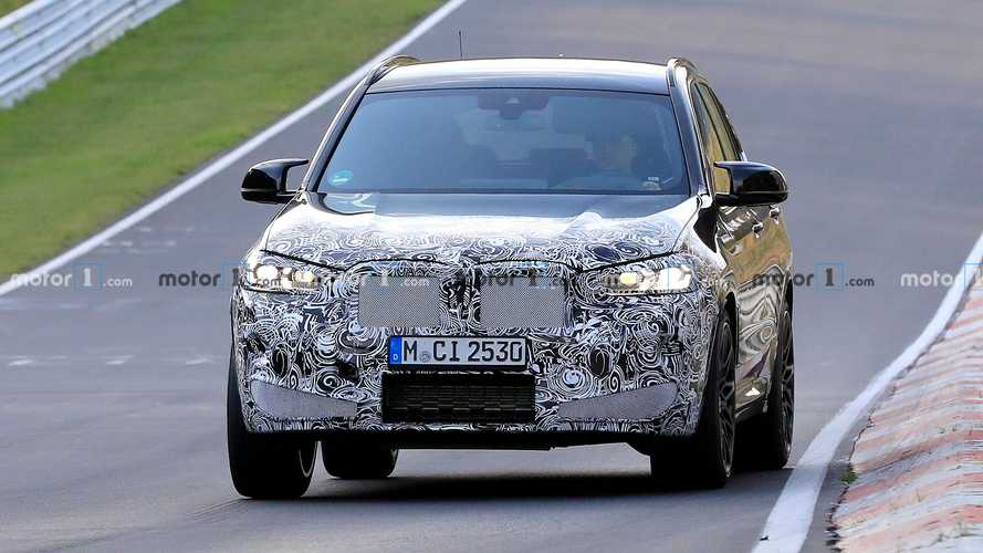 2021 BMW X3 M first spy photos