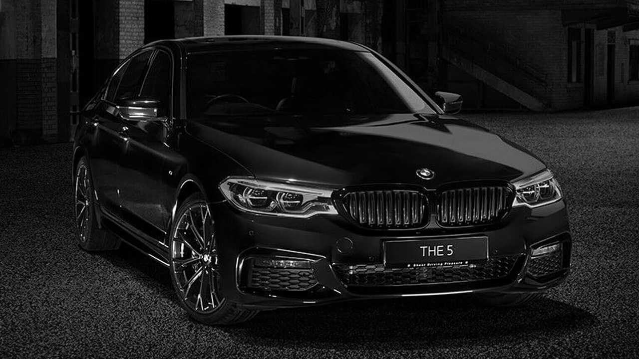 5-ös BMW Dark Shadow Edition