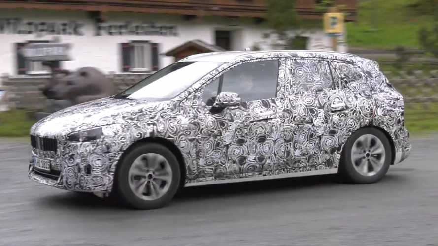 BMW 2 Series Active Tourer spy video captures spunky exhaust note