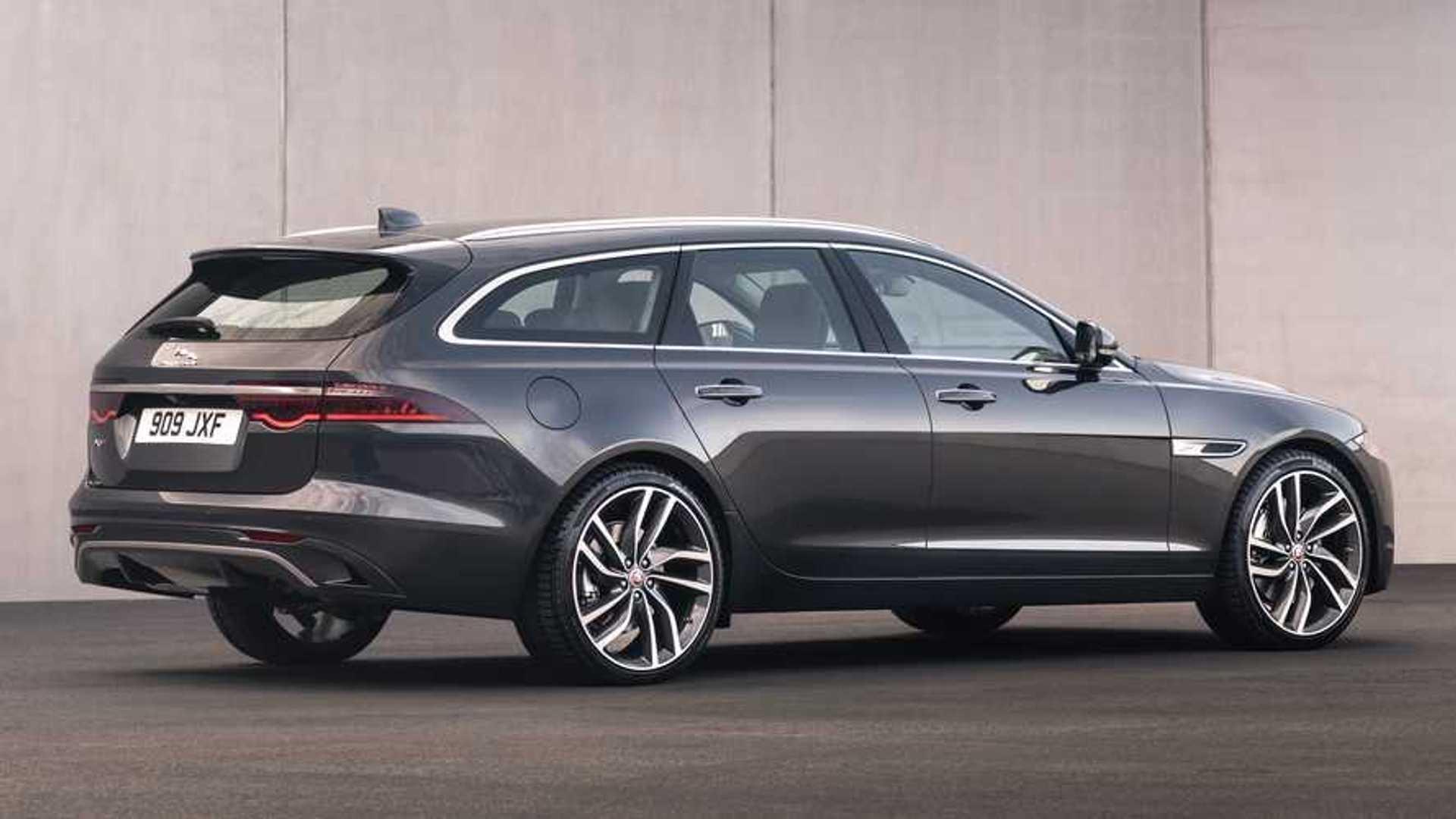 2021 Jaguar XF Sportbrake Debuts, But The Wagon Is Dead In ...