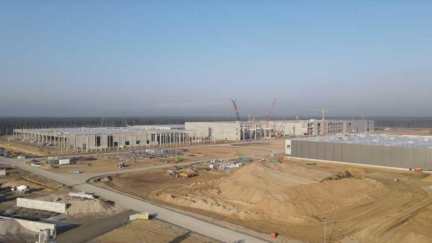 Tesla Giga Berlin Construction Progress: November 8, 2020