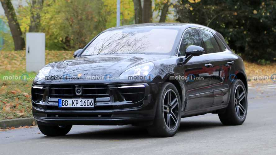 Porsche Macan Spied Sporting The Smallest Of Facelifts