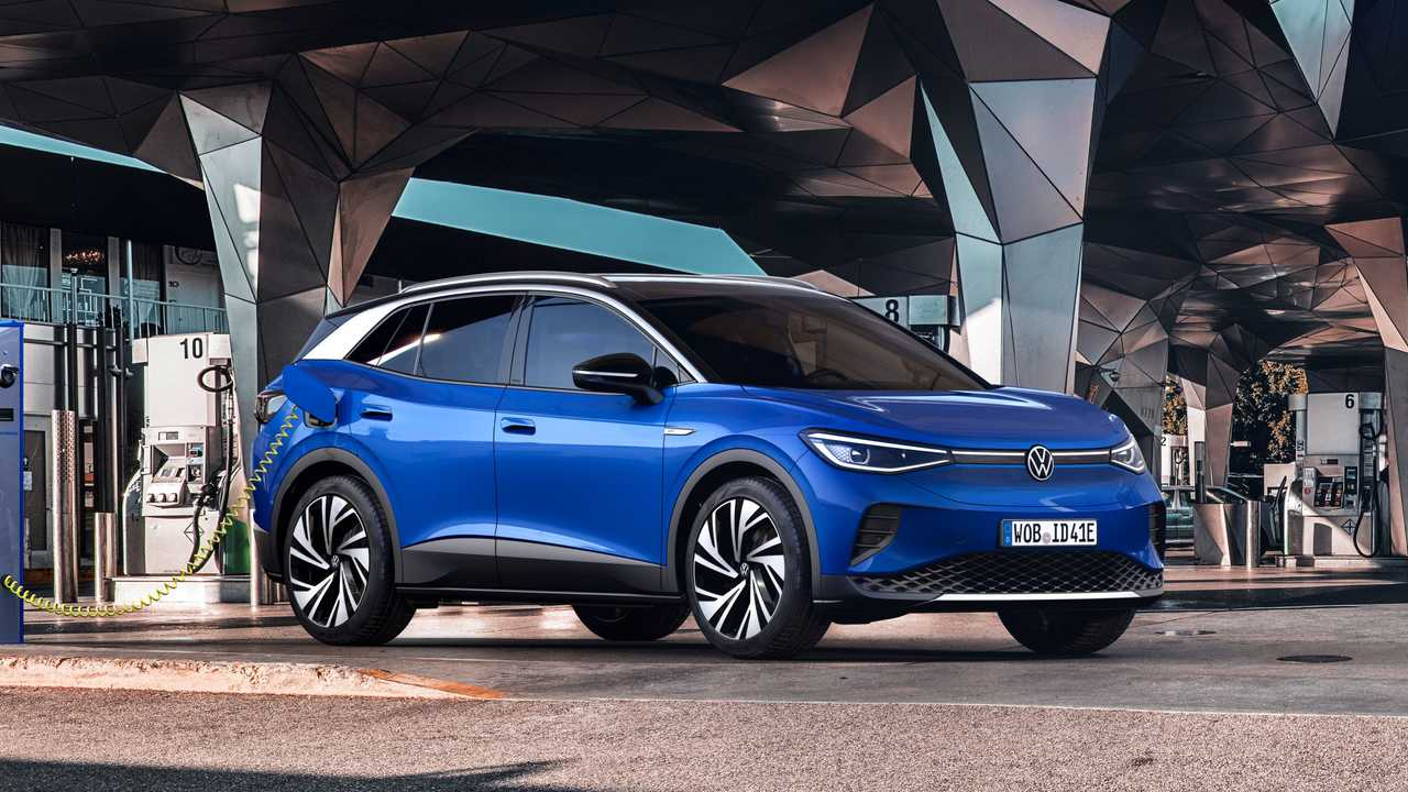 2021 Volkswagen ID.4 Exterior Front Quarter Location