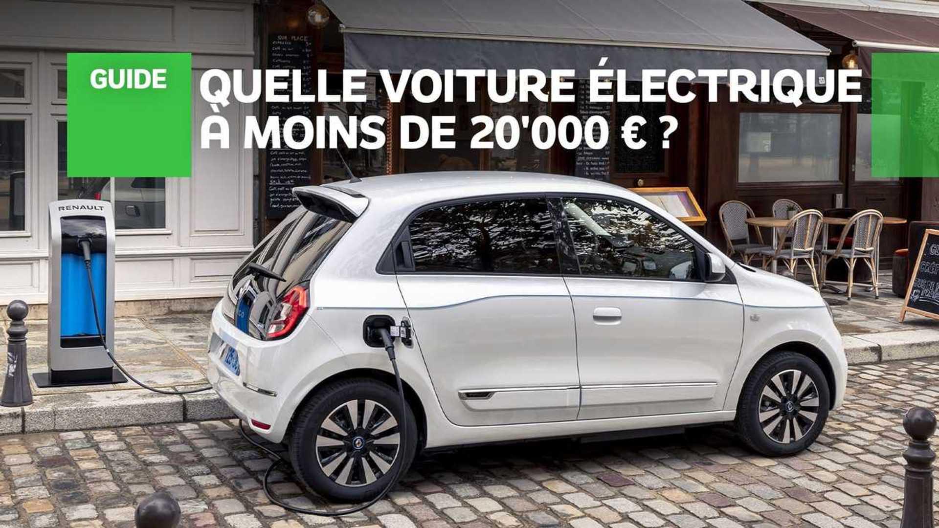 Les meilleures autos électriques à moins de 20'000 €