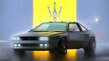 Maserati Project Rekall Concept: Eckige Designstudie