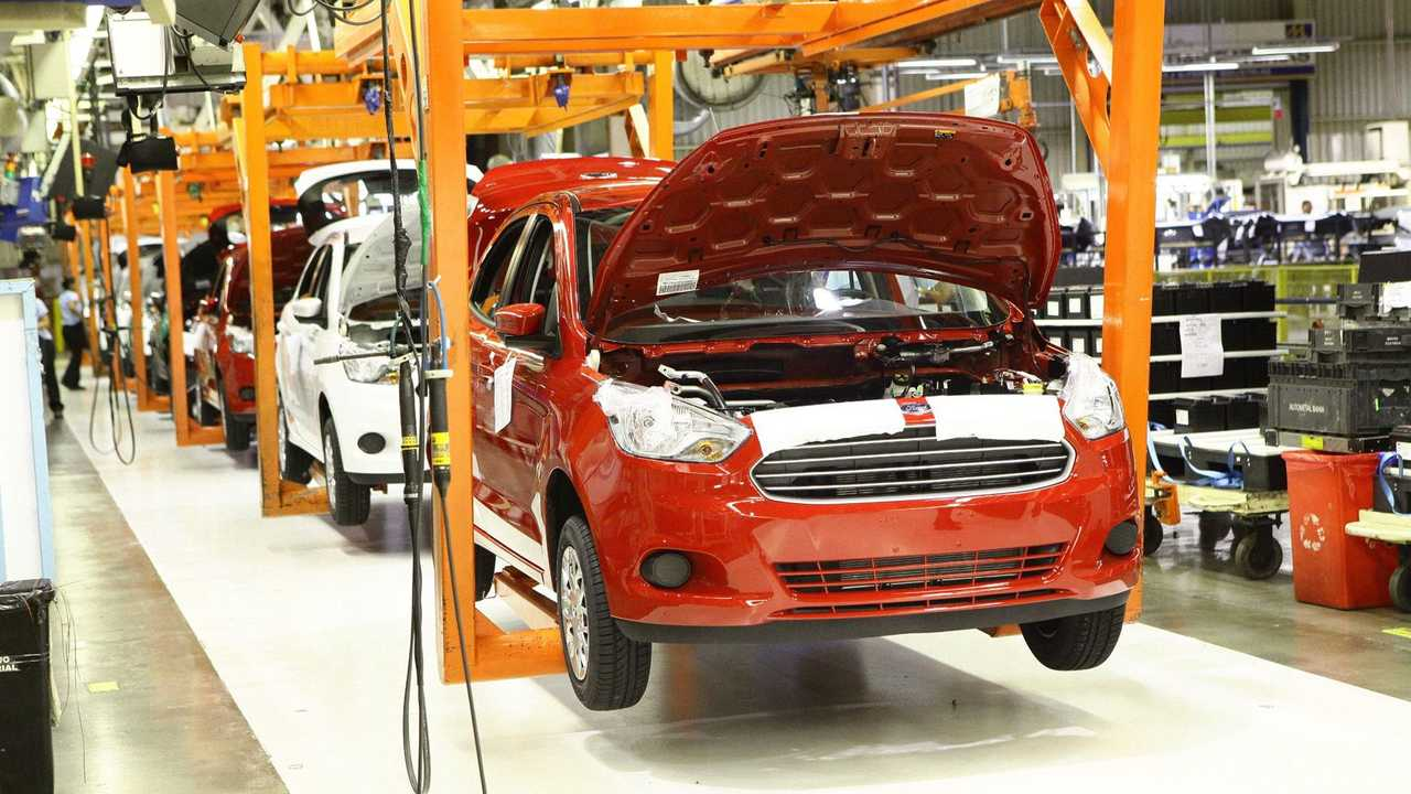 Ford Ka - Produção em Camaçari