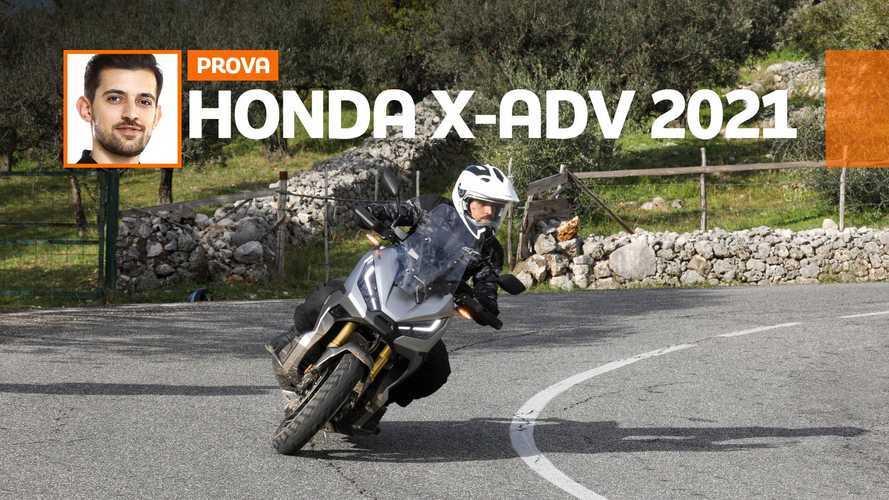 Honda X-ADV 2021 - TEST