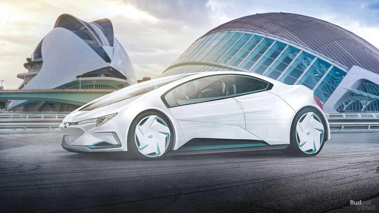 Konsep Mobil Masa Depan 2050 - Toyota Corolla