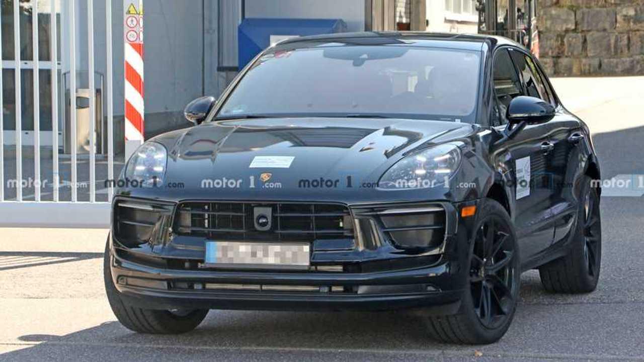 Porsche Macan - Flagra facelift