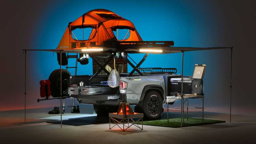 Toyota TRD Sport Trailer Takes Care Of All Your Camping Needs