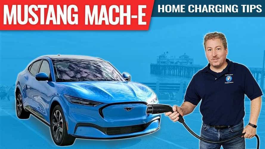 Ford Mustang Mach-E Home Charging Tips