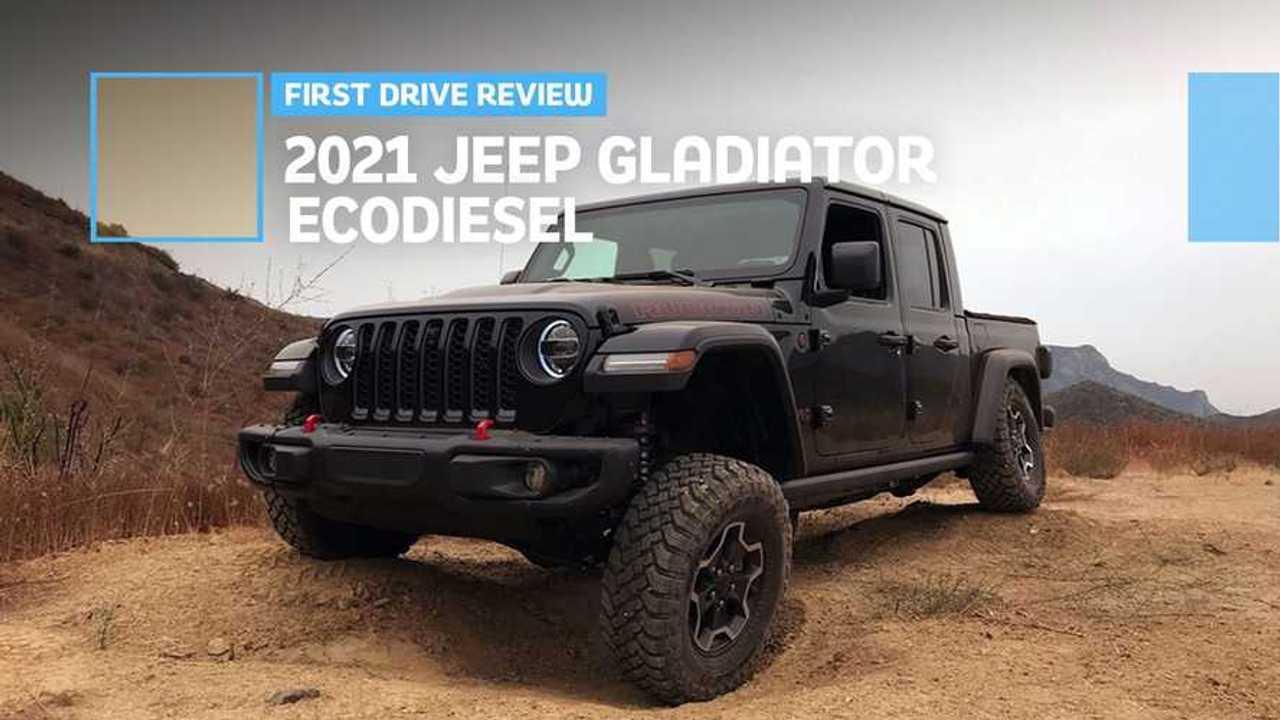 2021 Jeep Gladiator EcoDiesel First Drive