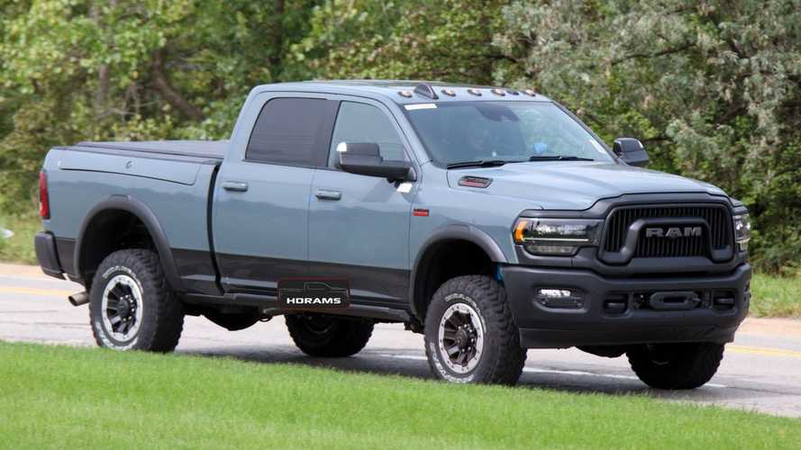 2021 Ram 2500 Power Wagon 75th Anniversary Edition Coming