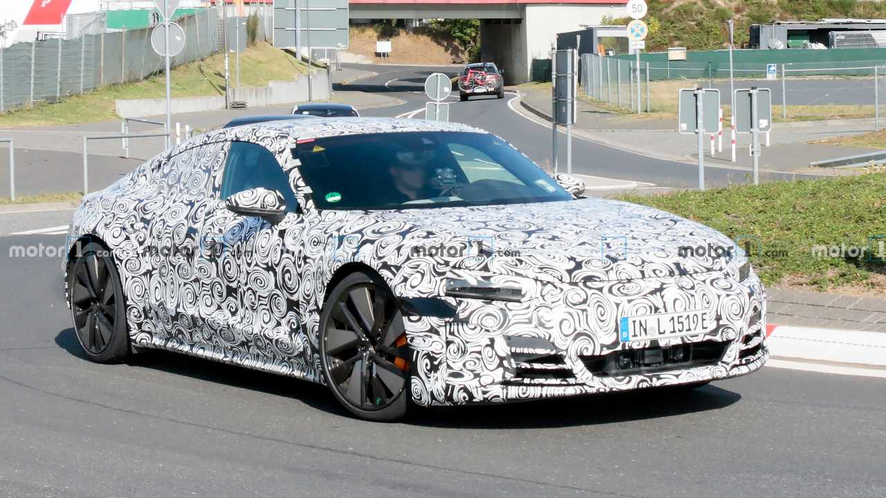 2021 Audi E-Tron GT spy photo