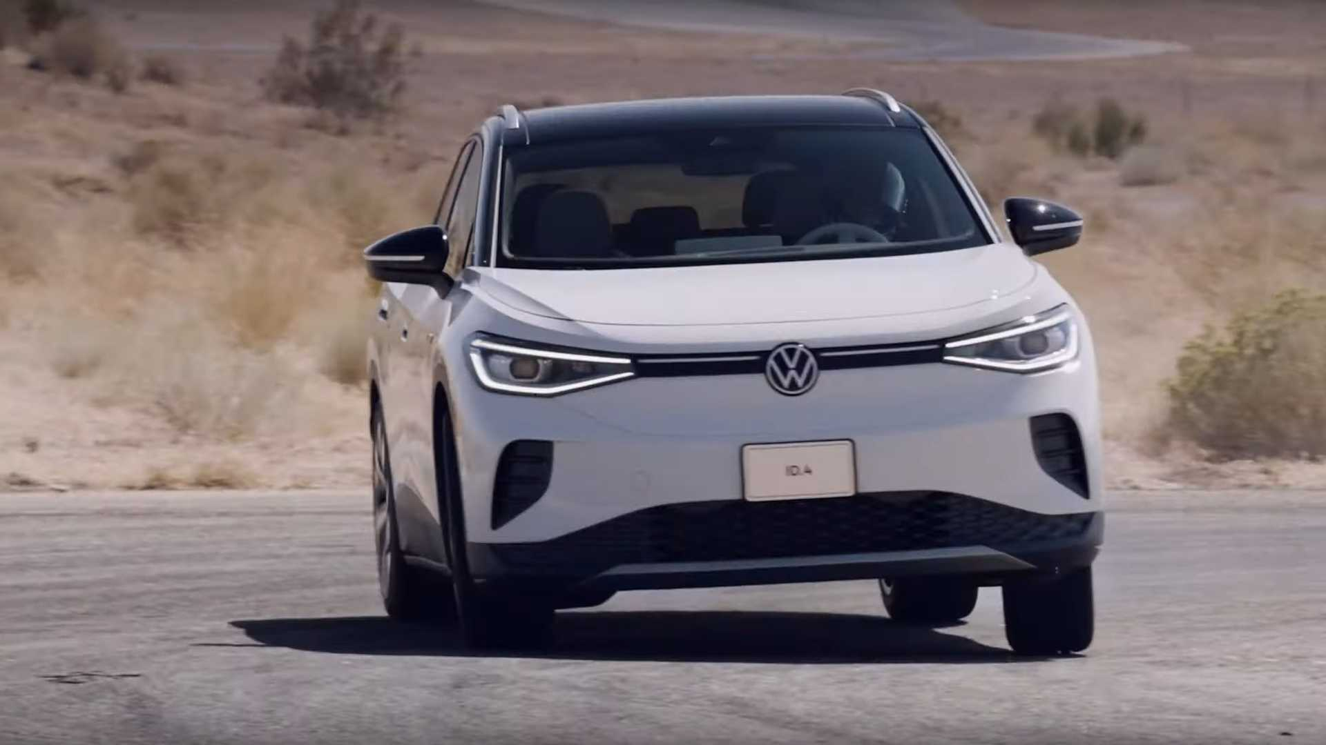 Watch Volkswagen ID.4 get pushed to its limits on the track