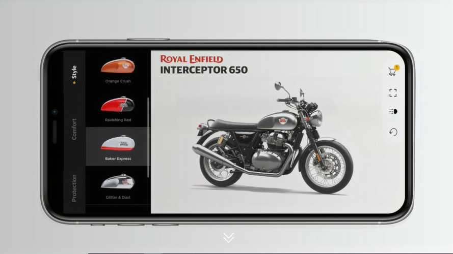 "Royal Enfield Introduces ""Make It Yours"" 3D Bike Configurator"