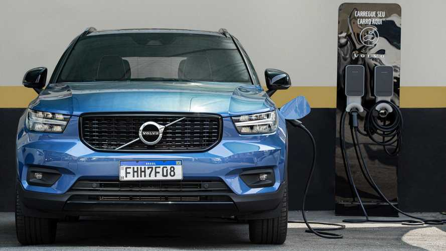 Volvo inaugura estacionamento gratuito para híbridos e elétricos no Brasil