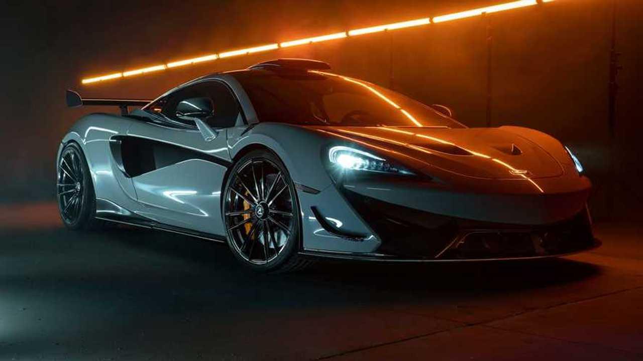 Novitec McLaren 620R Trois quarts