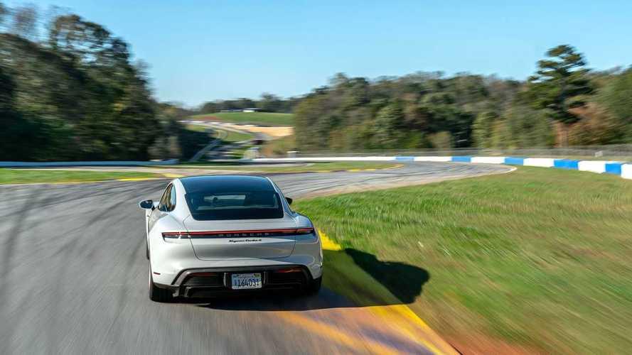 See Porsche Taycan Record Lap At Michelin Raceway Road Atlanta