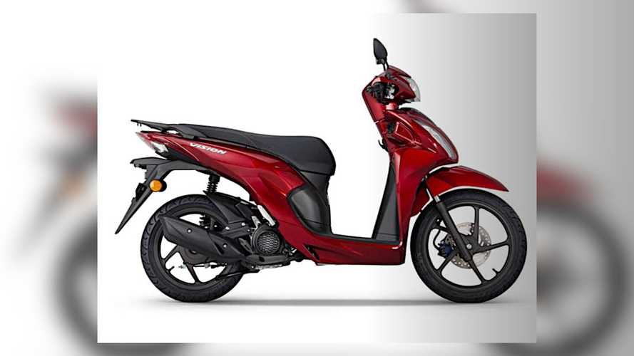 2021 Honda Vision 110 Scooter Gets Euro 5 Update
