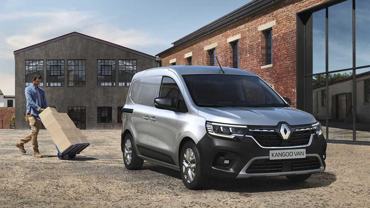 Nuovo Renault Kangoo Van - Esterni