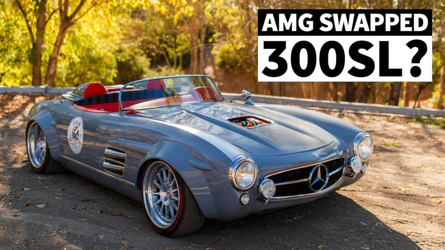 Mercedes 300 SL shell reborn as widebody speedster with AMG engine