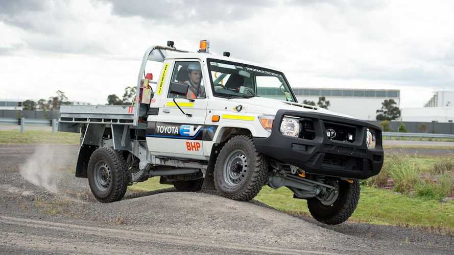 Toyota Land Cruiser Goes Electric To Work At Mine Site