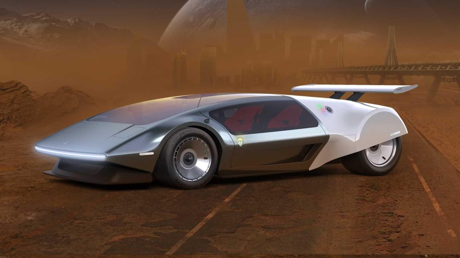Glickenhaus представляет будущий водородный суперкар в ретро-стиле