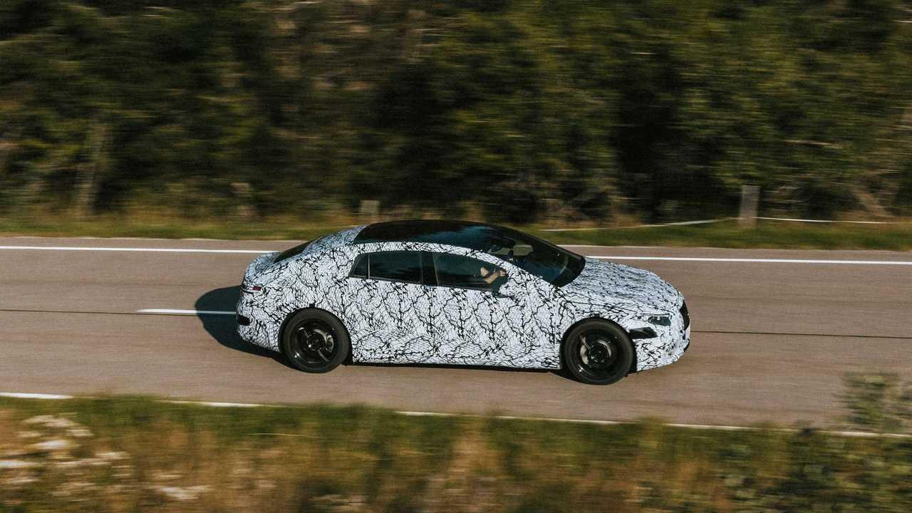 Mercedes-Benz EQ testing