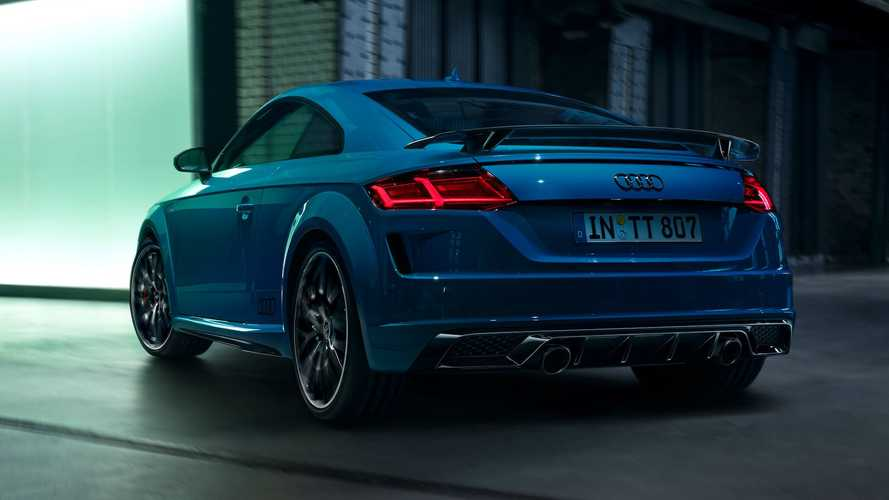 Audi Remembers TT Is Still Around, Launches S Line Competition Plus
