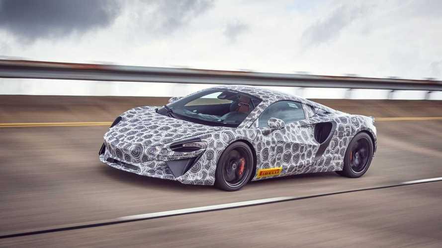 McLaren confirma que próximo supercarro híbrido HPH será lançado em 2021