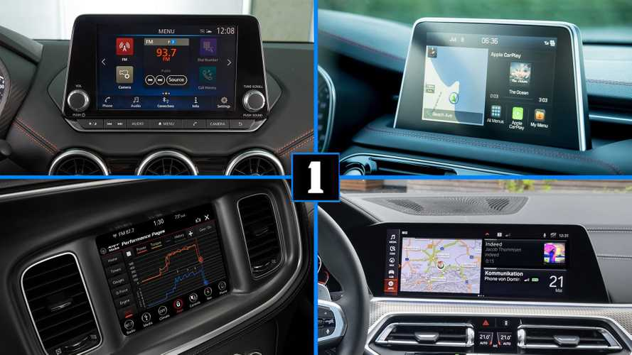 These Cars Have The Best Infotainment Systems In The U.S., Study Finds