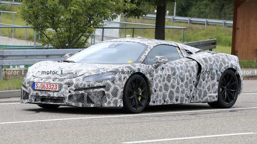 McLaren Sports Series Plug-In Hybrid Spied Prowling The Streets