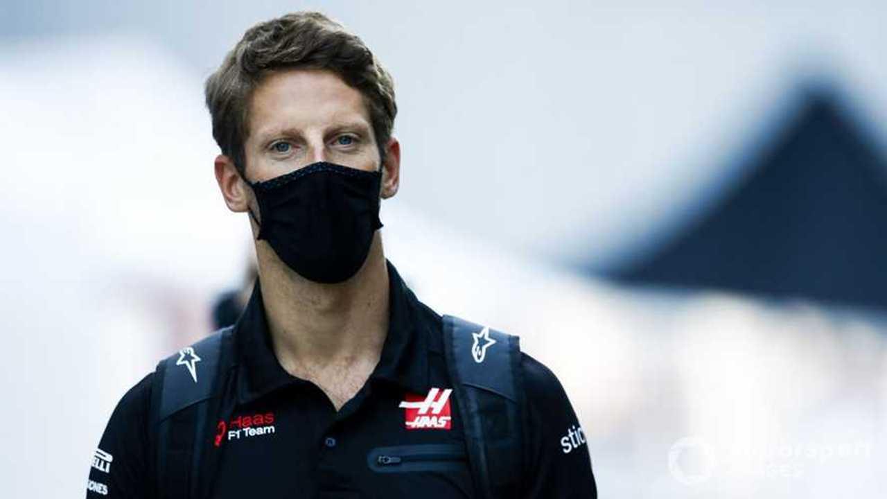 Romain Grosjean at Russian GP 2020