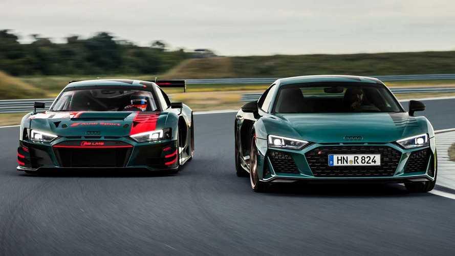 Audi R8 Green Hell Edition, Nürburgring galibiyetlerine selam duruyor