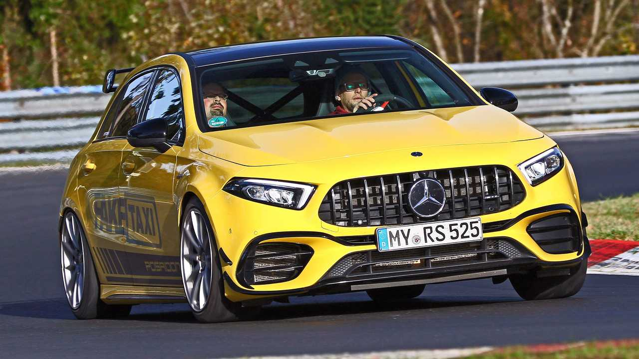 Posaidon Mercedes AMG A45 RS 525 Front