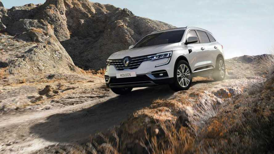 Renault dévoile quelques nouveautés pour son Koleos