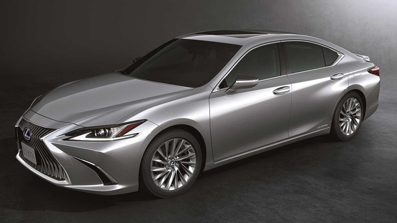 Lexus ES 300h 2021 - perfil
