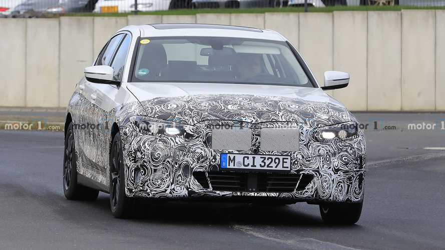 BMW 3 Series Electric new spy photos
