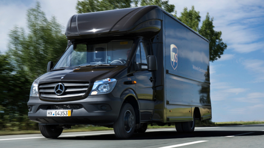 UPS consegna in Mercedes