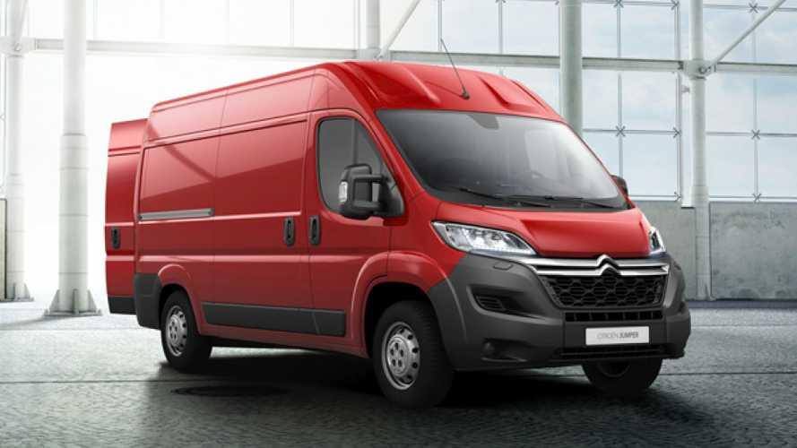 Peugeot e Citroen lanciano Boxer e Jumper elettrici
