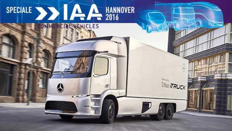 IAA Hannover 2016, Mercedes Urban eTruck