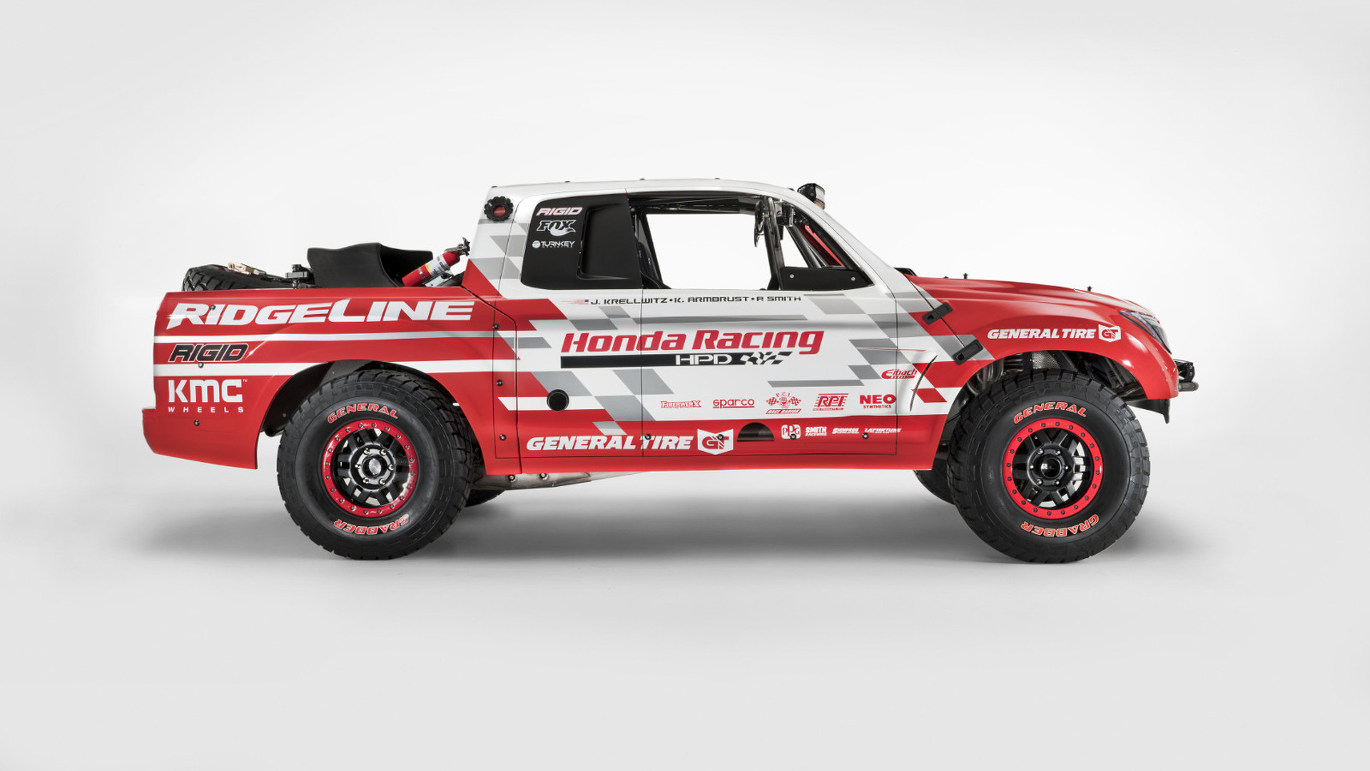 Honda Ridgeline Off Road >> Honda Ridgeline Baja Race Truck Marks The Company S Return