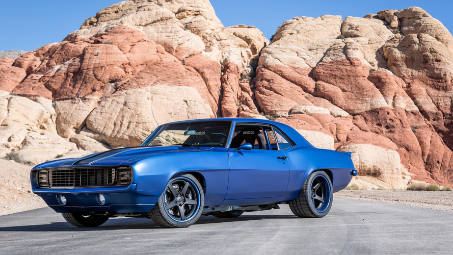 CR Supercars unveils heavily modified 1969 Camaro with 505 bhp LS7 crate engine
